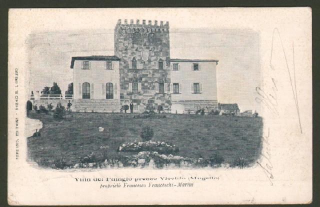 Toscana. VICCHIO, Mugello (Firenze). Villa del Palagio.