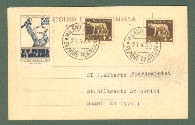 Lombardia. MILANO. Porta Ticinese. Cartolina d'epoca viaggiata nel 1934.