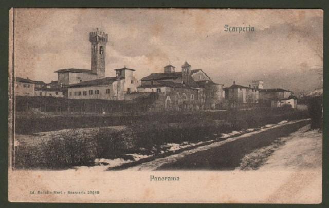 Toscana. SCARPERIA, Firenze. Panorama.