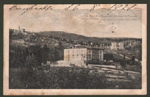 Toscana. CAMPIOBBI, Firenze. Villa Falle.