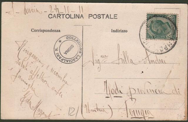 Toscana. LASTRA A SIGNA, Firenze. Santa Lucia.
