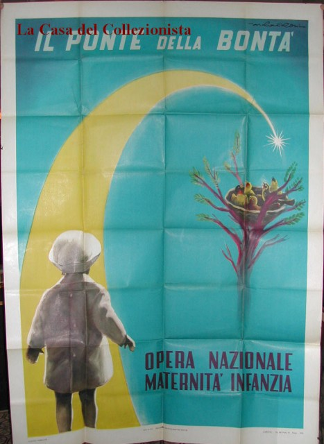 MANIFESTO per lOpera Nazionale Maternità Infanzia