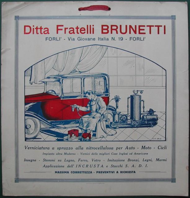 Ditta Fratelli Brunetti in Forlì.