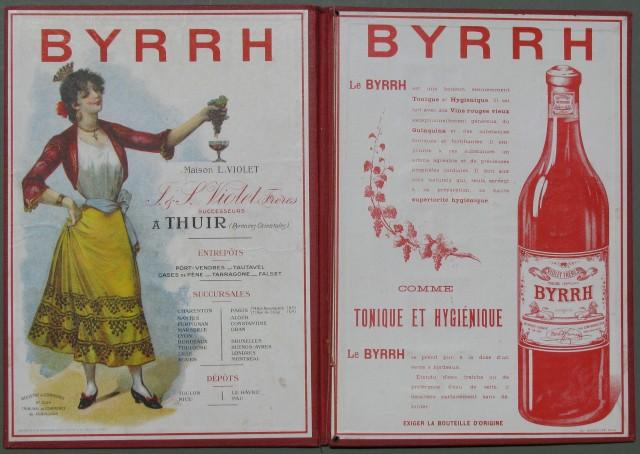PORTA MENU' in percallina rossa (cartoncino rosso telato) dell'inizio '900 di produzione francese.
