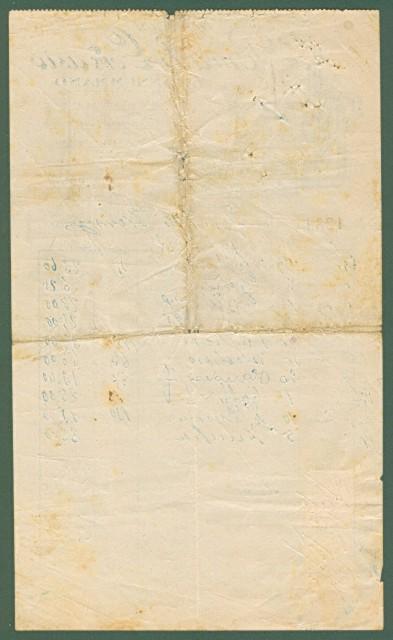 MONSUMMANO (Pistoia). Vecchia fattura, anno 1928. MAGAZZINI BURALLI.
