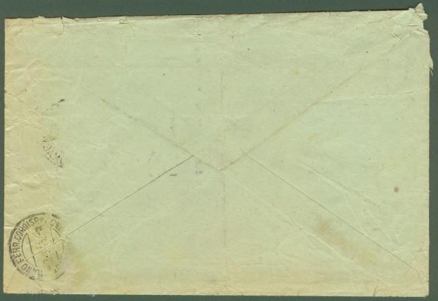 Luogotenenza. Notificazione di atto giudiziario del 1.8.1945