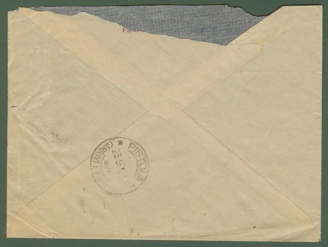 Luogotenenza. Raccomandata del 22.5.1945.