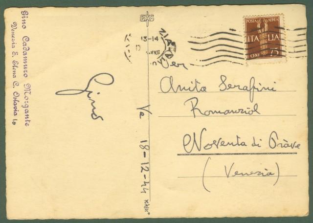 R.S.I.. Cartolina del 18.12.1944 da Venezia.