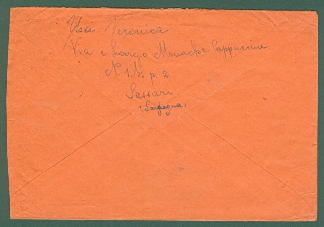 RACCOMANDATA per il Brasile del 3.6.1947.
