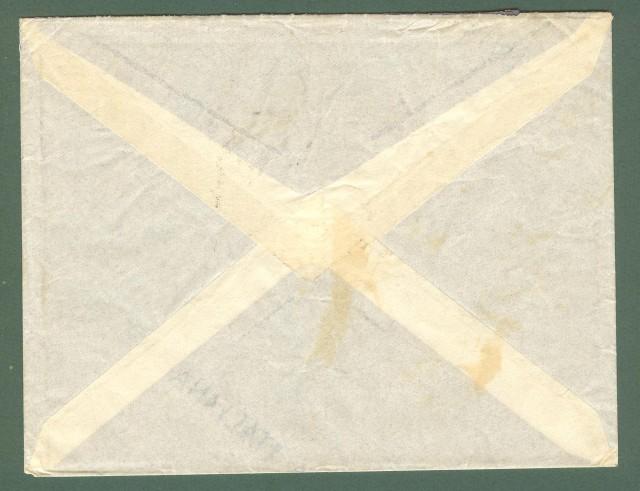 Storia postale Regno. Lettera del 14.11.1938 (guerra di Spagna) indirizzata alla 55'° batteria anticarro divisione Frecce Nere.