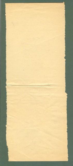 Storia postale ITALIA LUOGOTENENZA. Modulo delle Poste per il servizio pacchi, Lecce 18.01.1944.